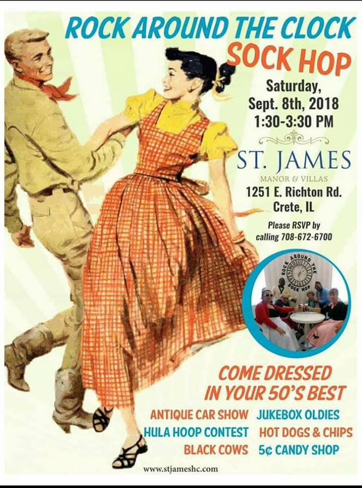 Join Us for a Sock Hop on September 8th 2018